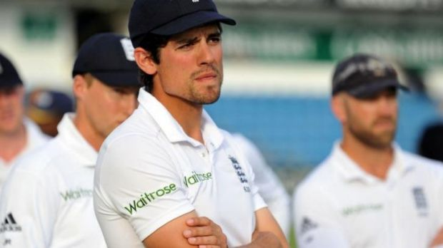 He is only getting worse: Shane Warne has called on England captain Alastair Cook (pictured) to stand down.