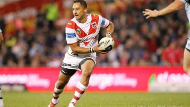 New look: Benji Marshall has been embarrassed by his recent form.
