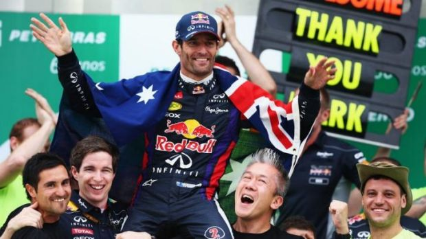 Mark Webber must be considered the region's benchmark in the sporting arena so far.