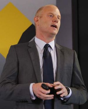 Silent: CBA chief executive Ian Narev.