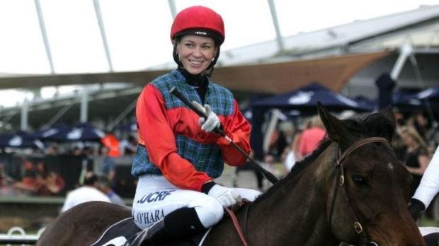 Long haul: Kathy O'Hara will ride  Dominant Manner in Monday's 3800-metre Riverina Cup.