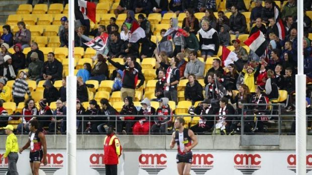 The Saints clash with the Lions in Wellington this year.