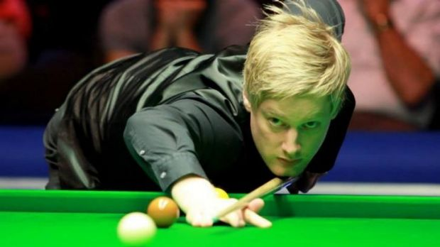 Bendigo-bound: Australian snooker champion Neil Robertson is No.3 in the world.