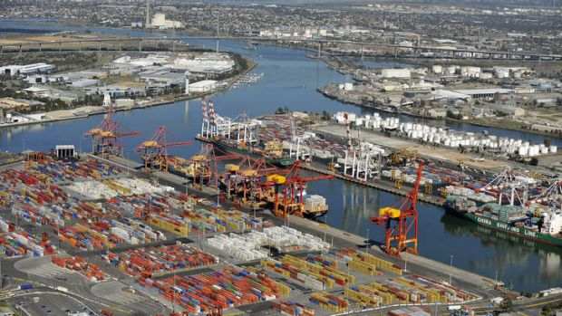Shipping out: Australian Amalgamated Terminals may lose the Webb Dock contract.