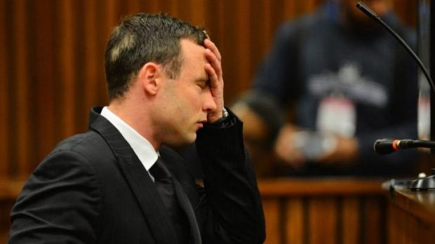 Cleared of a mental disorder: Oscar Pistorius in the Pretoria High Court on June 30.