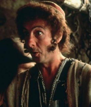 Eric Idle in Monty Python's Life of Brian.
