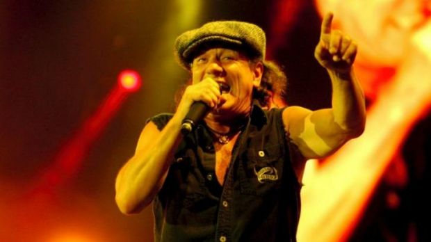 To be British or not to be ... AC/DC singer Brian Johnson is originally from Newcastle, UK.