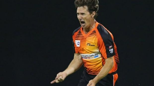 Veteran Brad Hogg was a big reason for the Scorchers' success last season.