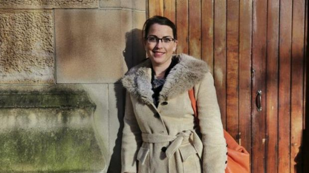 """""""I'm very capable"""": Julia Gilchrist, who is profoundly deaf, has battled to find employment."""