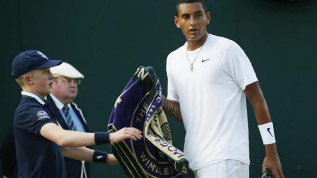 Time for a change: Nick Kyrgios.