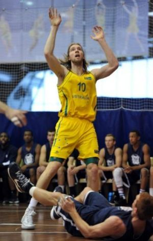 Two-year deal: David Barlow will join Melbourne United after several years playing in Europe.