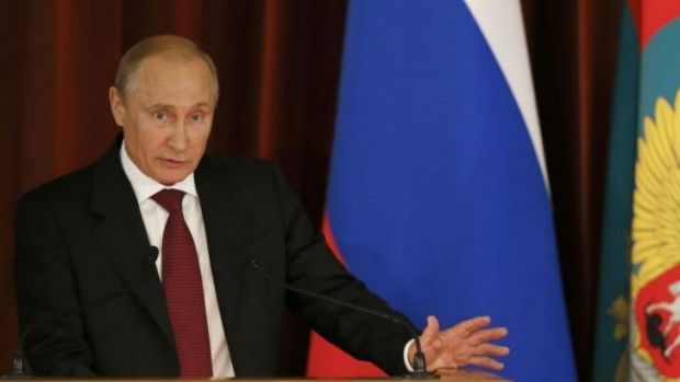 Russia's President Vladimir Putin has warned, again, that he reserves the right to use force to defend Russian-speaking ...