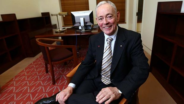 """""""At least Ricky knows what he doesn't know and he's willing to learn"""": Family First senator Bob Day moves into his new ..."""
