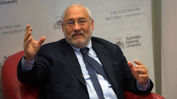 """Trying to pretend that universities are like private markets is absurd"" : Nobel prize-winning economist Joseph Stiglitz."