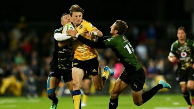In demand: Hurricanes five-eighth Beauden Barrett.