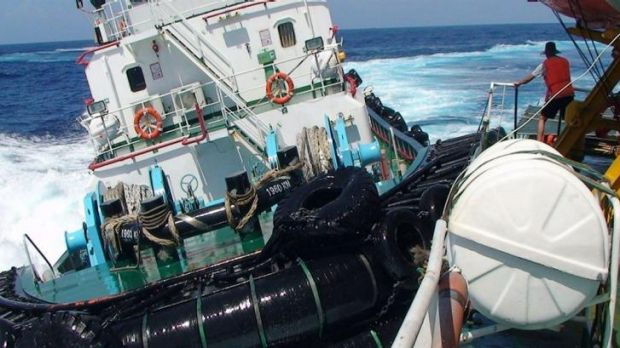 A Chinese boat collides with a Vietnamese vessel in contested waters of the South China Sea.