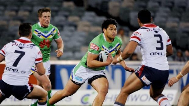Raiders forward Sam Mataora has joined the Newcastle Knights for the rest of the season.