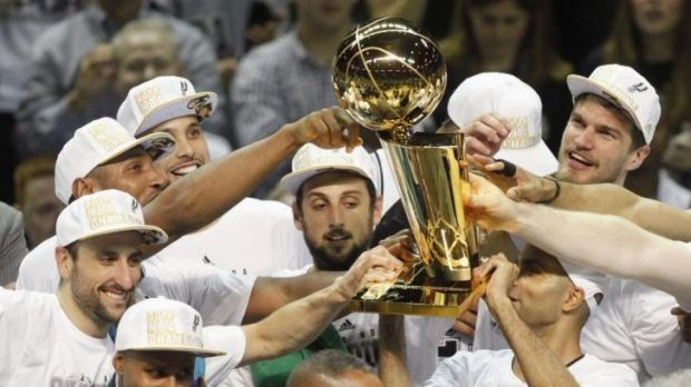 The NBA championship trophy, or ''Larry'', is coming to Canberra.