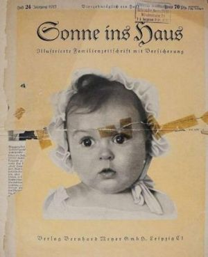 Hessy Taft on the front cover of Sonne ins Haus, a Nazi family magazine.