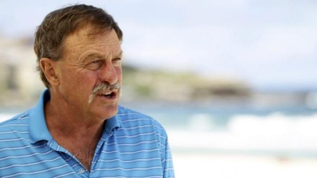 Tennis great John Newcombe.