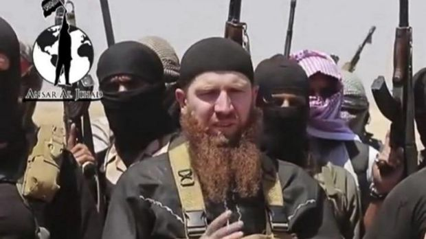 Inviting Muslims to join from abroad ... Islamic State of Iraq and the Levant spokesman Omar al-Shishani, a Georgian, ...