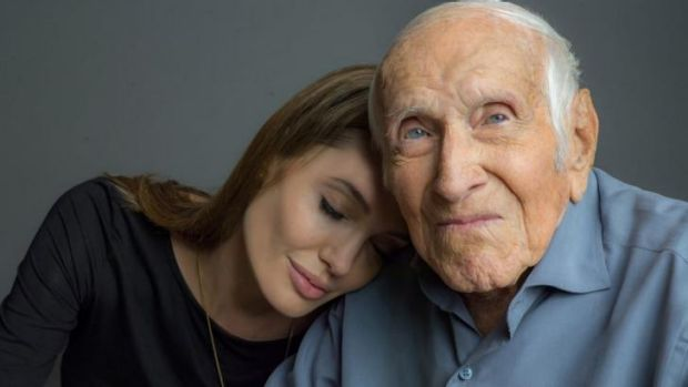 Olympian and former WWII prisoner of war Louis Zamperini became close friends with Angelina Jolie, who is directing ...