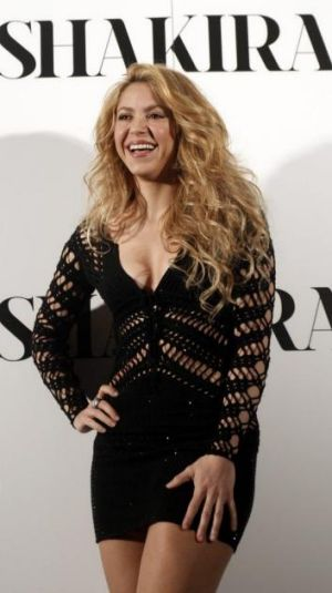 Ceremony close: Shakira to perform for a third time at the FIFA World Cup.