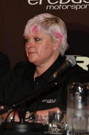 Erebus Mercedes team owner Betty Klimenko.