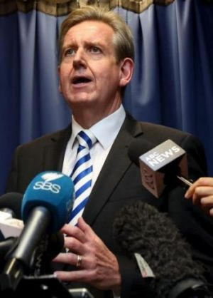 Changed the rules after lobbying: Barry O'Farrell.
