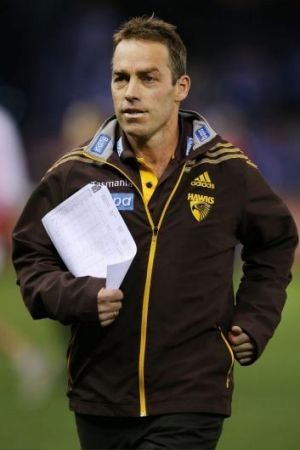 Hawthorn coach Alastair Clarkson was not the happiest of campers after Friday night's defeat.