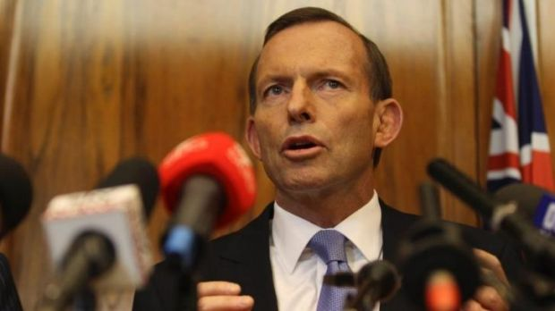 Tony Abbott says Sri Lanka is a peaceful country.