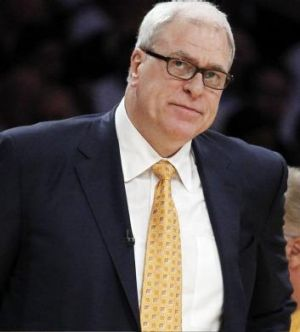 New role: Former LA Lakers coach Phil Jackson has been busy running the Knicks' basketball operations.