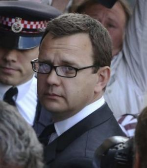 Jailed for 18 months: Former editor of <i>News of the World</i> Andy Coulson.
