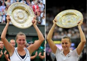 Twin triumphs for Petra Kvitova