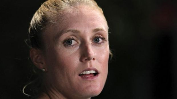 Down on speed: Sally Pearson is not at her best.