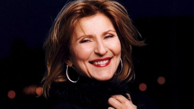 Janis Siegel dazzled with her silvery, flexible voice.