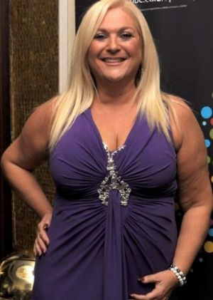 Alleged victim: British TV presenter Vanessa Feltz.