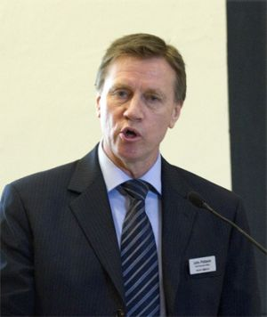 John Pollaers had lost the board's support for his growth strategy.