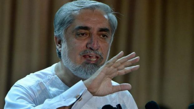 Afghan presidential candidate Abdullah Abdullah does not accept the result.