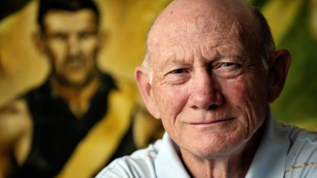 Richmond legend Kevin Bartlett campaigns for interchange reduction.