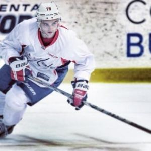 Nathan Walker at Washington Capitals development camp.
