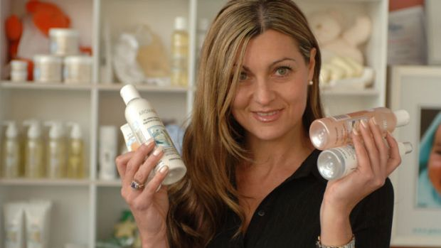 Catherine Cervasio from Aromababy is targeting the Chinese market.