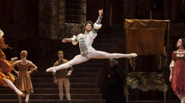 Carlos Acosta in Sir Kenneth MacMillan's ballet Romeo & Juliet.