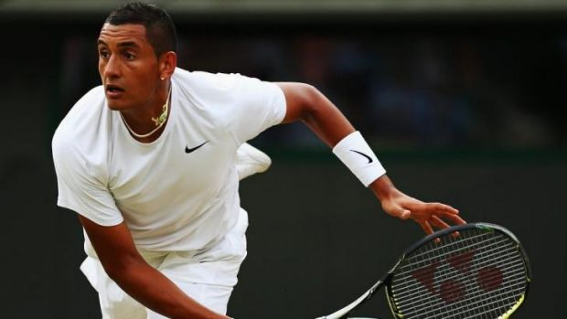 Nick Kyrgios is back in Canberra, with plenty of sponsorship deals to mull over.