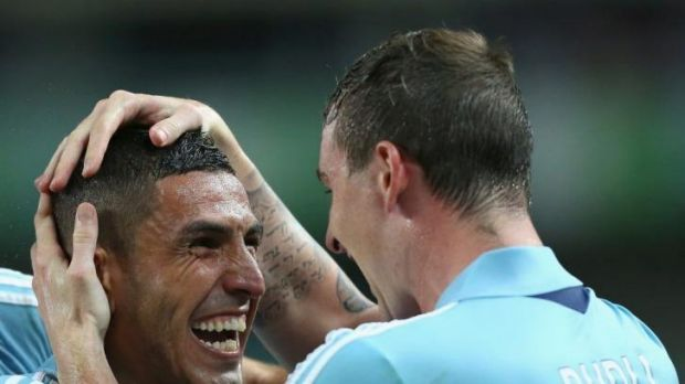 Heart and soul: Ali Abbas was a standout for Sydney FC last season.