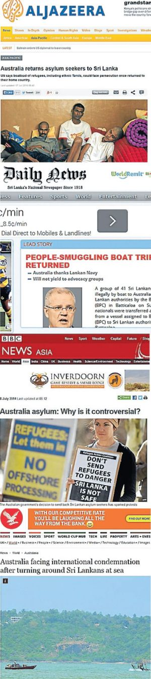 The world turns its gaze towards Australia.