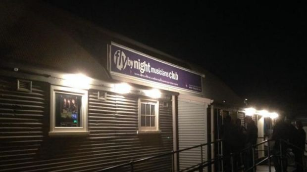 The Fly by Night club is facing closure.