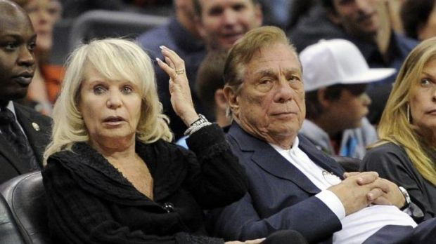 Shelly and Donald Sterling in 2010