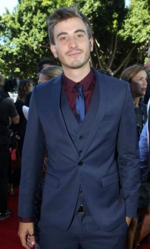 Ryan Corr pictured on the AACTA Award red carpet.