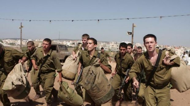 Young Israeli soldiers prepare to enter the war zone in <i>Rock the Casbah.</i>
